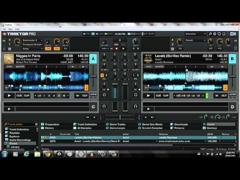 Dj Tutorial - Effects In Traktor [Beatmasher and Transpose Stretch]
