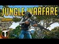 JUNGLE WARFARE - PLAYERUNKNOWN'S BATTLEGROUNDS (PUBG Savage Gameplay)