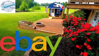 I Sell Things on eBay from a Shed in my Backyard