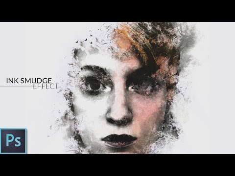 Ink Smudge Effect - Photoshop Tutorial