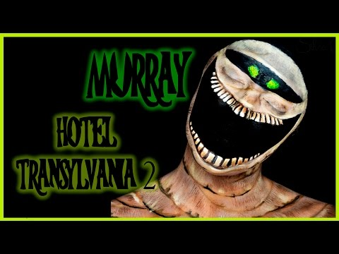 Murray from Hotel Transylvania 2 makeup tutorial | Silvia Quiros