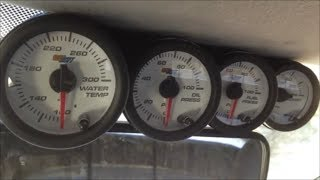 DIY Windshield Gauge Pod Fabrication & Glowshift Gauge Install - 2003 Ford 7.3L Powerstroke Diesel(This video will show how to make a windshield gauge pod with 2