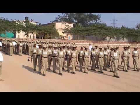 Police training IRB SOMANATH RATHOD