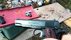 9mm vs 45 ACP vs 45 colt