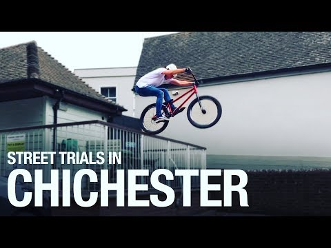 Riding Street trials in Chichester
