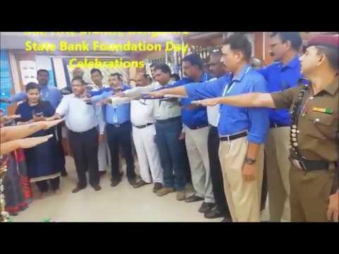 SBI, HAL Branch, Bangalore State Bank Foundation Day