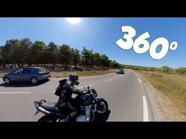 😱 UNE CAMERA MAGIQUE ! MOTOVLOG 360° avec l'Insta360 ONE X, !  Unboxing/Test