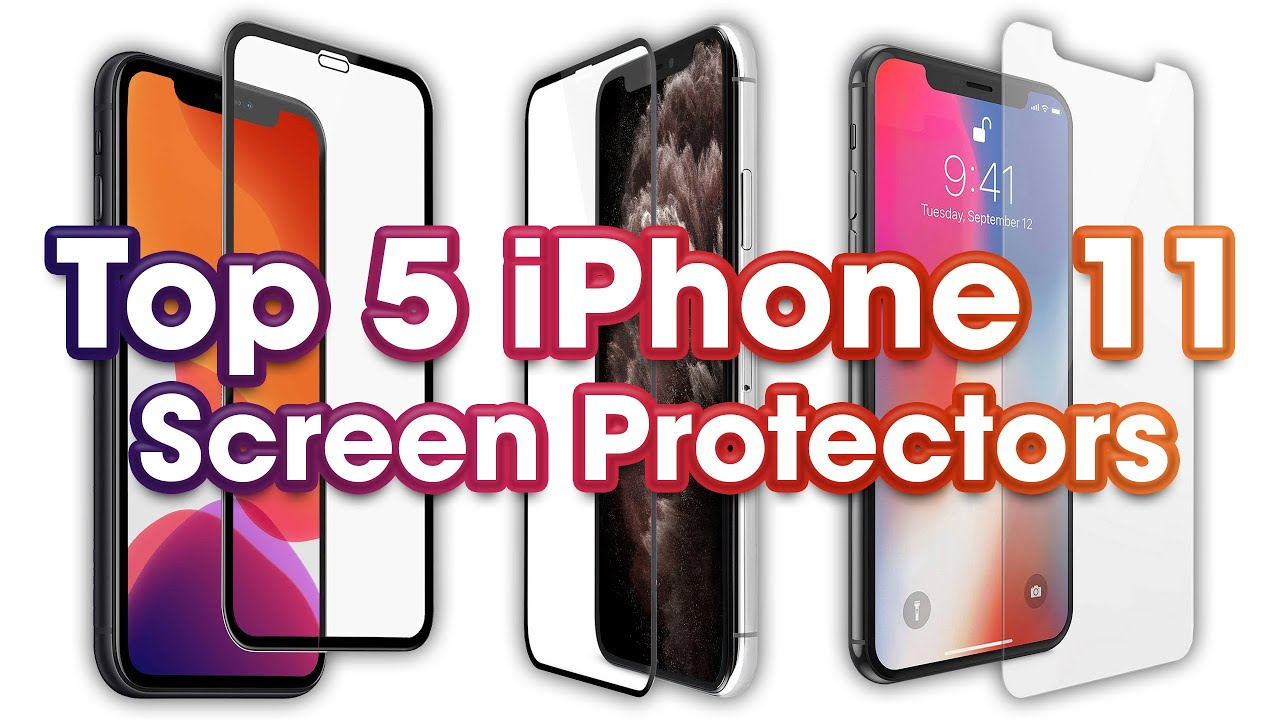 wholesale dealer 24ed3 50951 Top 5 iPhone XR Screen Protectors (3D Curved Tempered Glass & Film)!