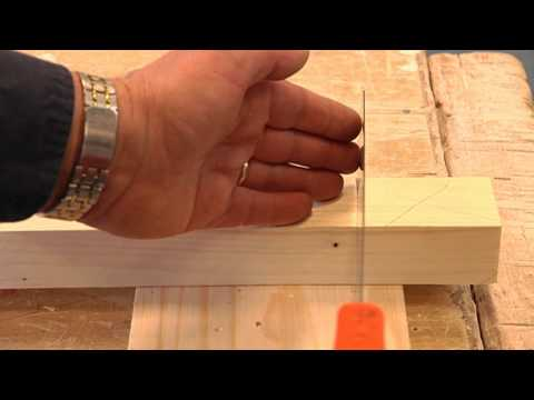 Hout zagen met een handzaag video tutorial klussen video tutorials