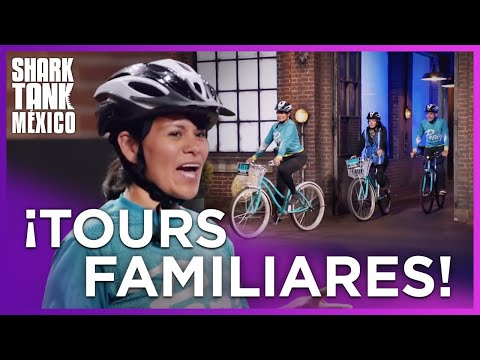 Turisteando en bicicleta por Shark Tank México | Shark Tank México