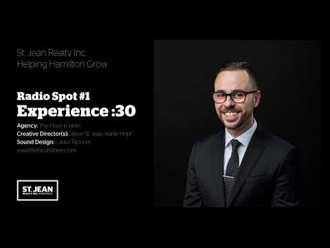 St. Jean Realty Inc. - Radio Spot #1: Experience