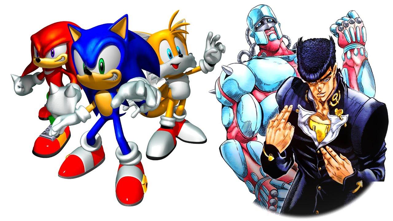 I Combined Jojo S Bizarre Adventure And Sonic Heroes Youtube