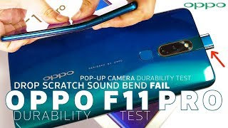 OPPO F11 Pro Durability Review - Not as Strong as usual? - Pop-Up Camera Durability Test