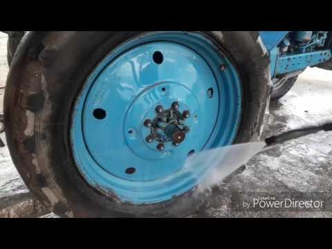 мойка трактор мтз 80 перви раз