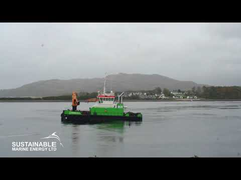 Green Isle at Connel Sound Timelapse