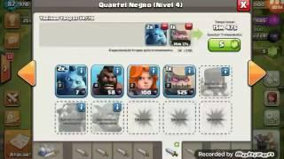 Clash of Clans - Dando Pt fácil Cv8 full com Gowipe