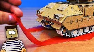 КАК ПРОЕХАТЬ ПО СЛИЗИ НУБИКУ ИЗ МАЙНКРАФТ ! Как сделать испытания для гусениц ADATS у себя дома !