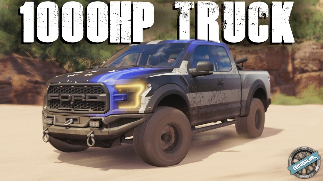 Ford F150 Shelby 2017 >> 1000HP TROPHY TRUCK! - 2017 Ford F-150 Raptor Race Truck || Forza Horizon 3 - YouTube