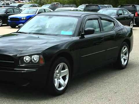 38691 2008 Dodge Charger Police Hemi Solid Black Nice
