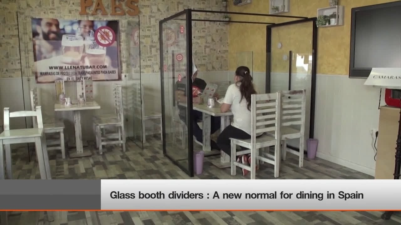 Glass Booth Dividers A New Normal For Dining In Spain Thai Pbs