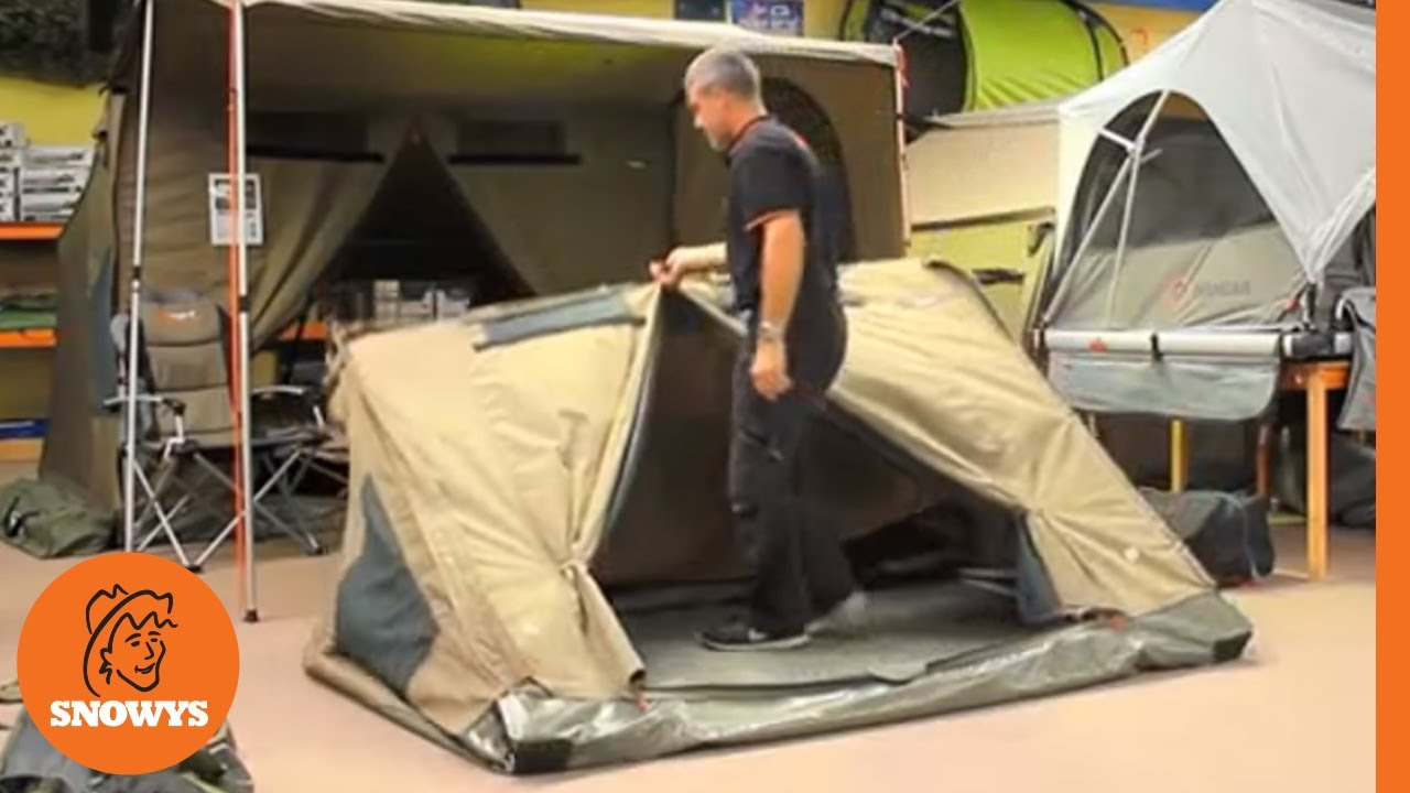 Oztent RV Tents - How to pack up & Oztent RV Tents - How to pack up - YouTube