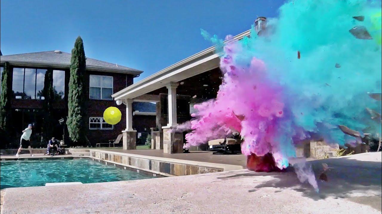 Blitzball Trick Shots 2 Dude Perfect Youtube