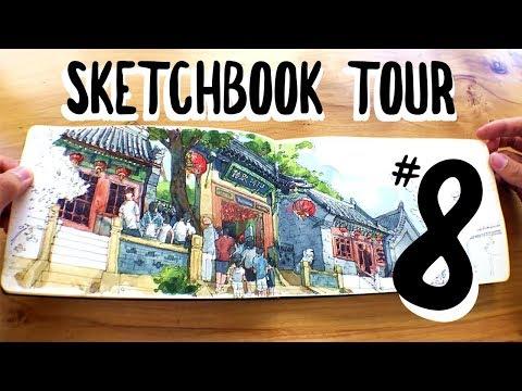 SKETCHBOOK TOUR #8: Urban Sketching Helsinki, Hong Kong, Toronto