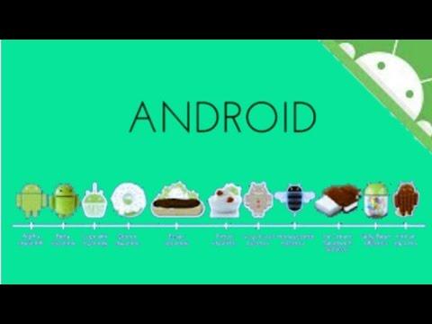La Evolución de los dispositivos Android (versiones) Cupcake 1.5 a Lollipop 5.0