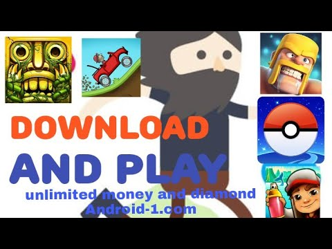 All games unlimited mod games in download is link Android-1 com in hindi