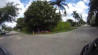 Naples, Florida - Gulfshore Blvd S to Tamiami Trail E - Filmed with a GOPRO Digital Camera