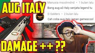 Download lagu AUG ITALY LEGEND GEMSCOOL NAMBAH DAMAGE? MARI KITA BUKTIKAN // Point Blank Zepetto