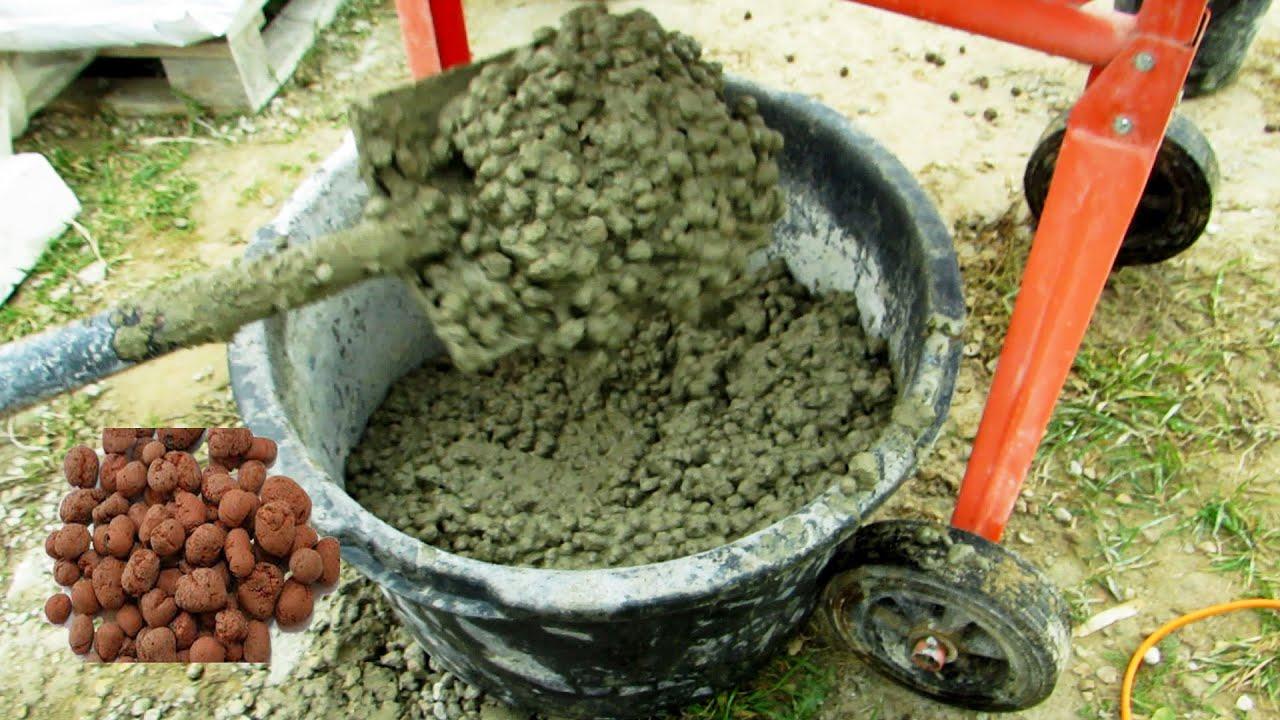 Керамзита бетонная смесь раствор цементный безусадочный