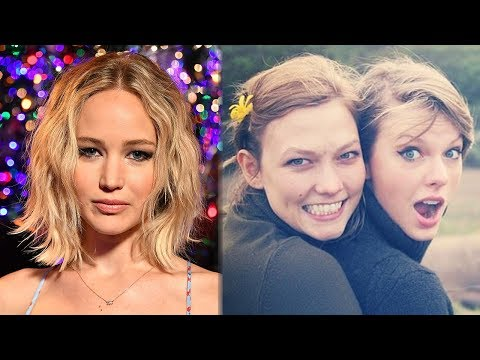 Jennifer Lawrence WORRIED About Taylor Swift & Karlie Kloss