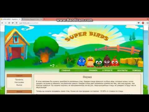 Golden-Birds Платит !!! Покупка птиц и пополнение баланса.из YouTube · Длительность: 10 мин59 с