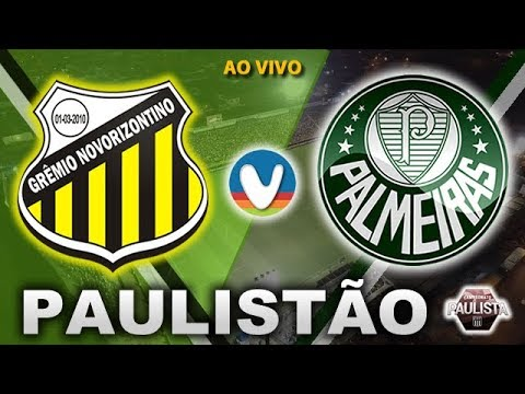 Novorizontino 1x0 Palmeiras | Ao Vivo | Campeonato Paulista