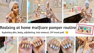 RELAXING AT HOME #SELFCARE PAMPER ROUTINE! // MOM SELF CARE ROUTINES // Jessica Tull