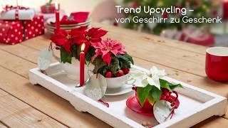Last-minute Geschenke: Upcycling zur Weihnachtszeit