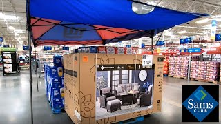 SAM'S CLUB SHOP WITH ME STORE WALKTHROUGH HOME ITEMS FURNITURE KITCHENWARE COOKWARE GROCERY SHOPPING