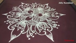Creative Rangoli Designs without Dots | Simple Daily Rangoli Kolam Designs