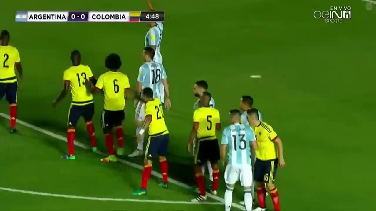 Argentina vs Colombia Full Match | WC Qualification So... | Doovi