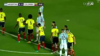 Argentina vs Colombia Full Match |  WC Qualification South America 16/11/2016