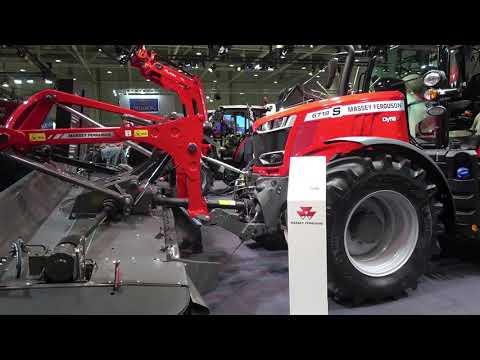 The 2020 MASSEY FERGUSON 6718 tractor
