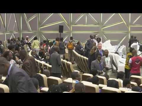 Cérémonie d'ouverture Forum société civile