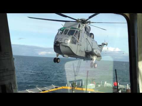 "Royal Canadian Navy helicopter ""Sea King"""