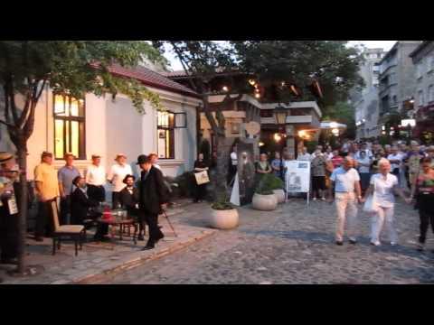 Skadarlija in Belgrade, Serbia - Evening of poetry