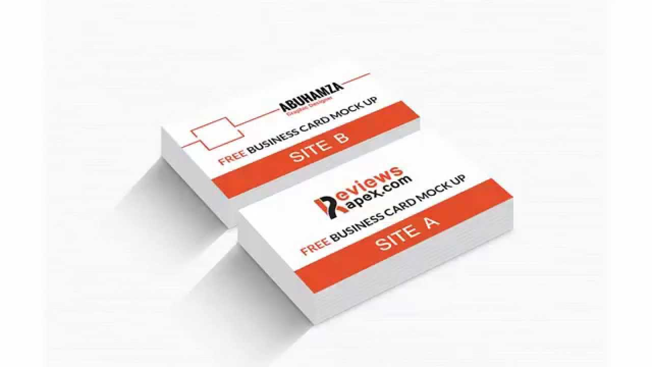 Free download realistic business card mockup template youtube free download realistic business card mockup template colourmoves