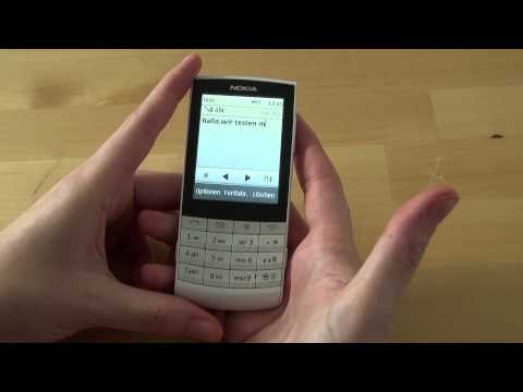 Nokia X3-02 Touch and Type Test Bedienung