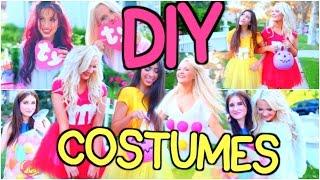 20 Last-Minute DIY Halloween Costumes!