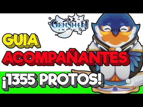 👌GUIA ACOMPAÑANTES❗ 💎1355 PROTOGEMAS GRATIS💎[Genshin impact trucos relajatetera en español]