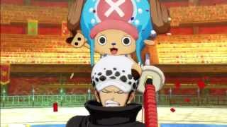 One Piece Unlimited World Red ( English ): Colosseum All Cutscenes ( 720p/HD )